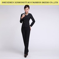 office uniform designs for women/ladies work suits by suits manufacturer