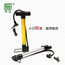 hot selling China OEM aluminum alloy bicycle air pump,durable hand held bike pump