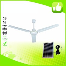 Housing 56 inch 26 watt solar panel powered ceiling fan with cheap price