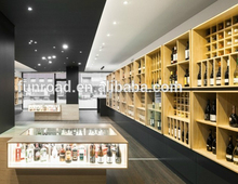 2016 New Brand Cheap Wine Display Shelves For Shop Furniture for hot sale