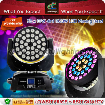 New! 10W x 36pcs Circular LED Wash Moving Head