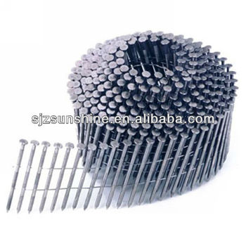 screw shank coil nails