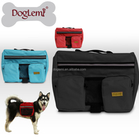 Pet Dog Bag Large Dog Oudoor Backpack Hiking Camping Saddle Bags