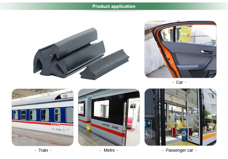customized epdm truck body door seal auto seal rubber