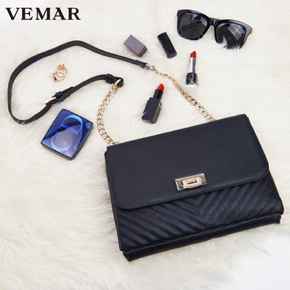 Fashionable Magnet Clip Woman Envelope Clutch With Shoulder Belt
