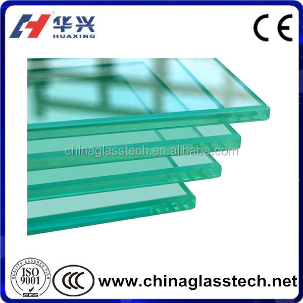 CE tempered 10mm thickness jalousie window glass