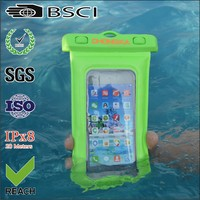 pvc wholesale waterproof pouch for iphone4s waterproof pouch