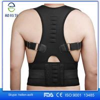 Paypal Acceptable Posture Corrective Therapy Back Brace with Magnets, Unisex Magnetic Posture Corrector and Support
