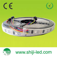 5 Meter length WS2801 RGB LED strip individually addressable LEDs Not Waterproof