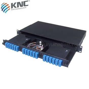 Utra high density MPO/MTP fiber optic patch panel