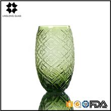 Cheap tall cylinder vase handmade glass vase clear antique wedding glass vase for home decoration.
