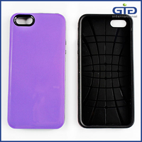 [NP-1641] Durable Dual Layer TPU PC Guard Shell Slim Cases for iPhone 5G/5S/5C