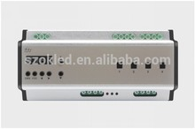 New Price! DMX 4 channel 20A EXP guide rail type switch controller