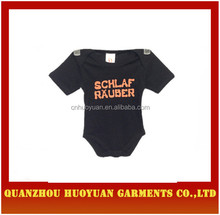 QuanZhou,FuJian factory 100% cotton baby unisex creeper /romber of babies clothes