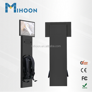 24 inch lcd wearable screen backpack advertising billboard