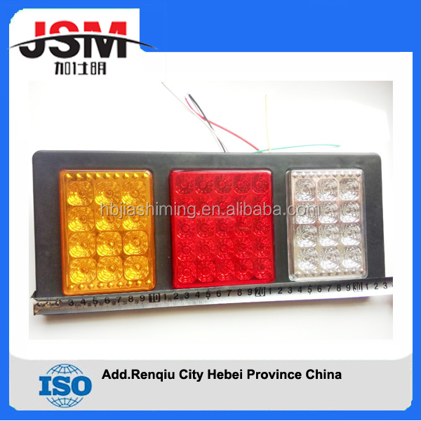 factory price triple LED lights truck rear tail light lamp led light for sale