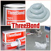 Liquid and silicone sealing gasket for sealing surface of industrial equipment. Manufactured by ThreeBond Inc. Made in Japan