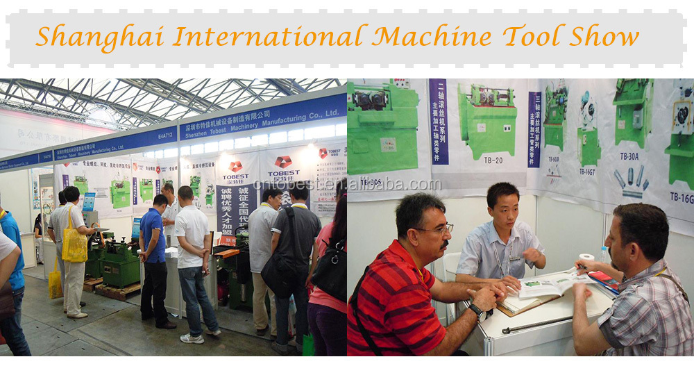 2015 tobest inner thread making machine tapping machine for sale