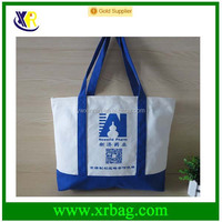 Custom Promotional 100% Cotton Fabric Tote Shopping Bags
