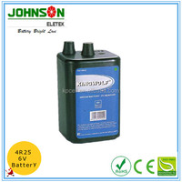 6V carbon zinc battery 4R25 Super Heavy Duty Battery from zhejiang