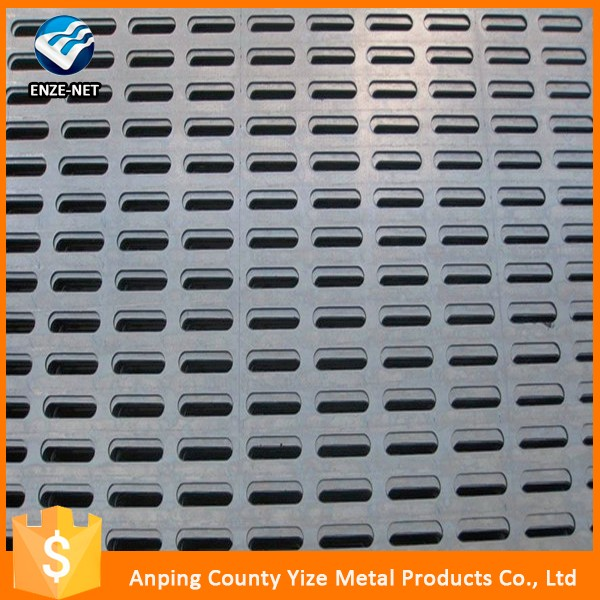 china expert export 2mm stainless steel perforated decorative metal screen sheet (factory)