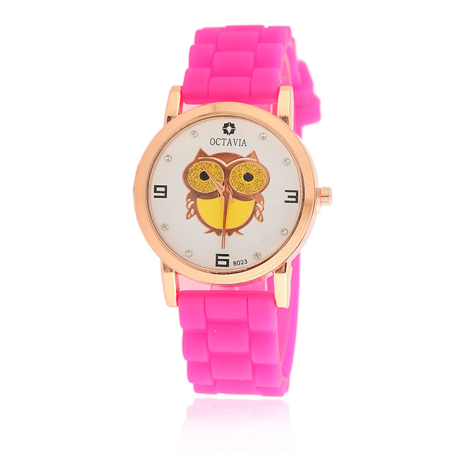 New good quality silicon watch recycle rubber watch strap for kids
