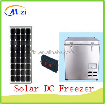 Solar Freezer DC Car Refrigerator Vehicle Freezer Car Fridge
