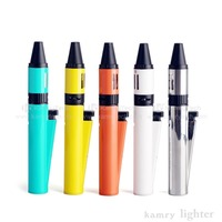 Vaporizer reusable electronic cigarette kamry lighter shape 35w top fill hole