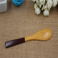 2016 New small High quality custom wooden spoon for salt