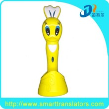 Newly design educational video talking pen Rechargeable kids reading pen