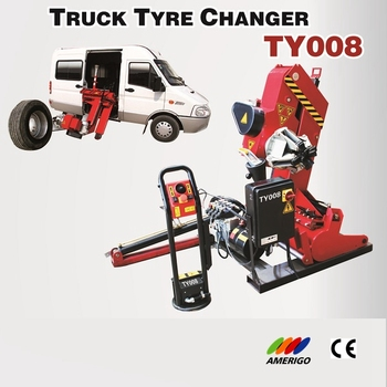 Amerigo TY008 Hydraulic Electric Mobile Tyre Changer