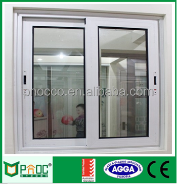 PNOC office interior aluminum frame double glass sliding reception window PNOCSW0010