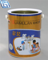 golden decorative Reliably Sealing 5L drum for sale