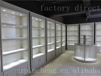 Indian style china manufacturer used glass display showcase for jewelry store