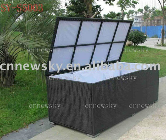 Great Outdoor Rattan Furniture Kd Storage Box Cushion Box Pillow Box   Buy  Synthetic Poly Wicker Pillow Boxes Outdoor Furniture Storage Box,Rattan  Patio Cushion ...