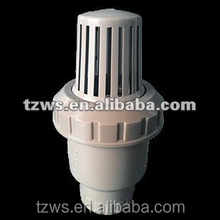 water system plumbing materials fitting high pressure pvc spring ball foot valve