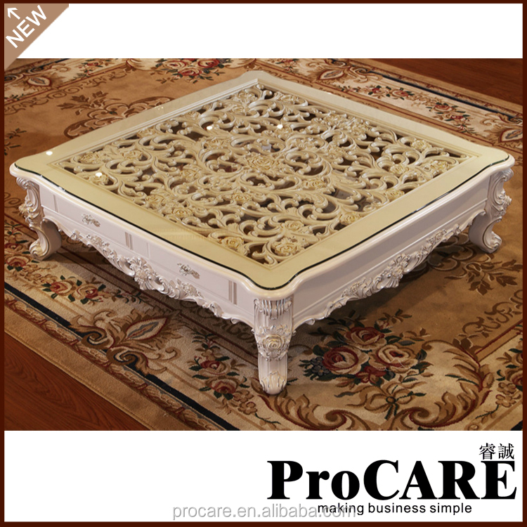 Home goods high quality wood marble coffee table