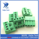 3.96mm Pitch 300V 10A PCB Screw Terminal Block Pluggable Terminal Block 4 Pins HT396