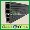 OCOX Factory Cheap Price Black Color Anti-slip Grooved Laminate WPC Flooring