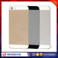 Factory wholesale price metal rear housing back cover for iphone 5