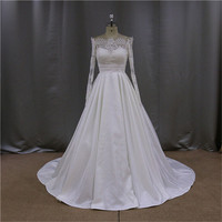 Sweetheart Ball gown strapless ruched taffeta tulle wedding dress