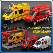 Mini Qute 1:36 kids Die Cast pull back alloy police ambulance rescue vehicle diecast model car educational gift toy NO.MQ 8300