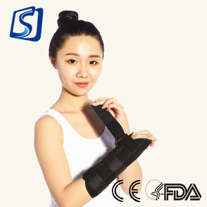 GANGSHENG 2018 Medical Factory Price Adjustable Neoprene gel wrist support straps