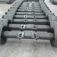 Trailer Straight Axle And Axle Parts