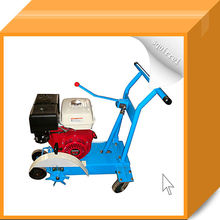 Gasoline Engine Easy Controlled Road Concrete Pavement Joint Cleaning Machine