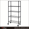 Easy assemble chrome metal medium duty wire shelving