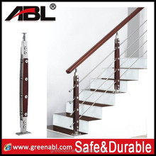 Contemporary appearance indoor baluster aluminum pipe railing handrail