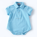 High quality wholesale striped infant romper organic baby onesi