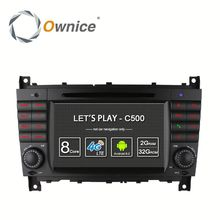 Android 6.0 C500 Octa core Car multimedia for Mercedes Benz W203 C Class Built in 4G LTE 2G ROM Support DAB TPMS Mirror