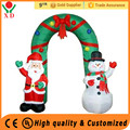 Wholesale cheap customized 8ft gemmy inflatable christmas arch for supply